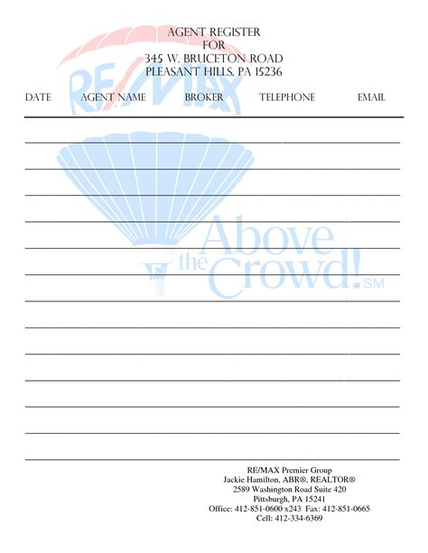 best photos of open house sign in sheet printable