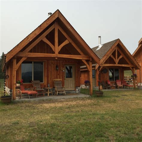 sips cabin sips cabins at cbell hills guest ranch bc canada