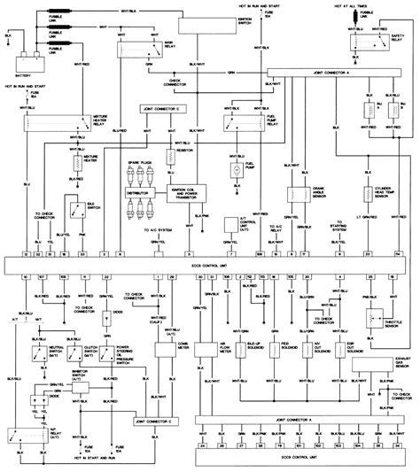 1994 nissan d21 hardbody wiring diagrams wiring diagram