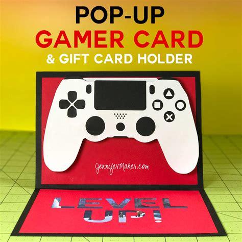 Game Gift Card - pop up game controller card gift card holder jennifer maker