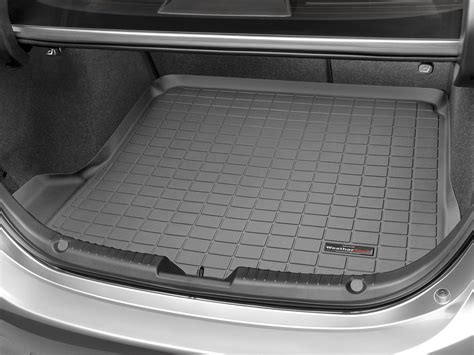 Mazda 3 Cargo Mat by Weathertech Cargo Liner Trunk Mat For Mazda 3 Sedan 2014 2017 Black Ebay