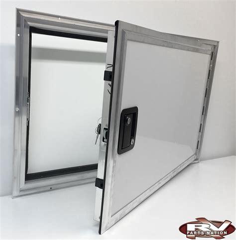Rv Baggage Door rv baggage door square corner