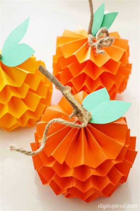 Easy Paper Crafts For Adults - 15 autumn paper craft for family net guide