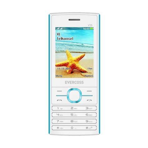 Baterai Evercoss V15 1100mah Original jual evercoss v15 handphone putih biru harga
