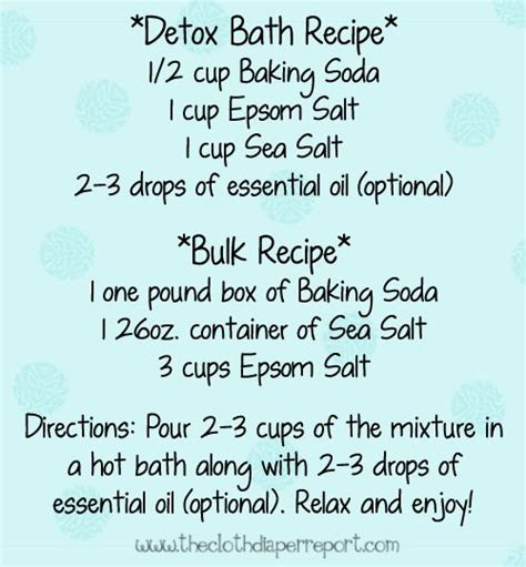 Foot Detox Recipe Snopes by 17 Best Ideas About Foot Baths On Detox Bath
