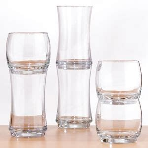Stackable Kitchen Glasses Cost Plus World Market Stackable Glasses 6 For Set Of 4