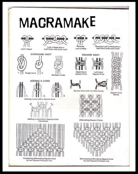Hemp Knots Advanced - 1000 images about macrame how to on macrame