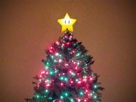 super mario star christmas tree topper mario tree topper plasma2002