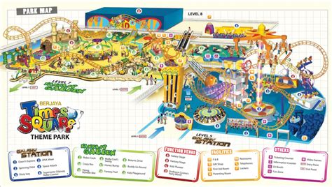 amusement park floor plan berjaya time square theme park
