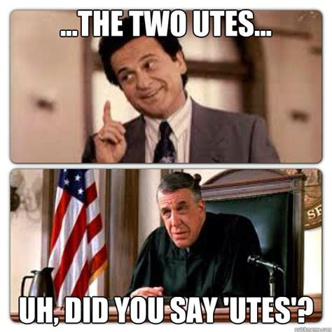 Ute Memes - the two utes uh did you say utes my cousin