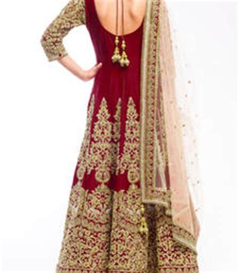 Anjani Maroon buy maroon silk embroidered semi stitched salwar with dupatta