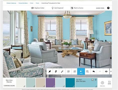 app to see paint color on walls choose the paint color