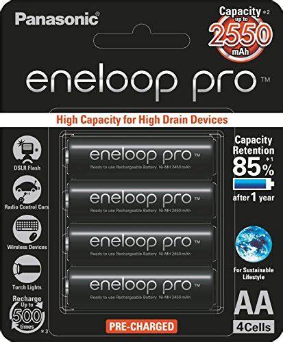Baterai Panasonic Eneloop Pro 2550mah 4xaa Rechargeable Ni Mh Battery panasonic eneloop pro upto 2550mah 4xaa rechargeable ni mh battery bk 3hcce 4bn best deals