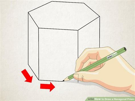 How To Draw 3d Hexagon