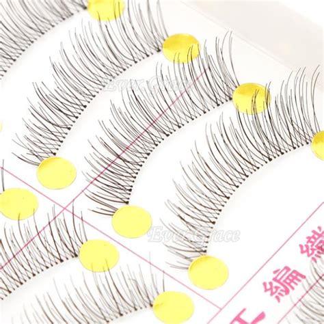Bioaqua False Eyelashes 10 Pairs 1 icycheer 10 pairs makeup handmade fashion false eyelashes soft eye lash eye lashes