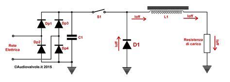 schema alimentatore switching il rumore nella rete elettrica genesi e rimedi