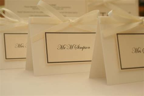 Handmade Place Cards For Weddings - luxury wedding place cards minimum of 15 handmade by me