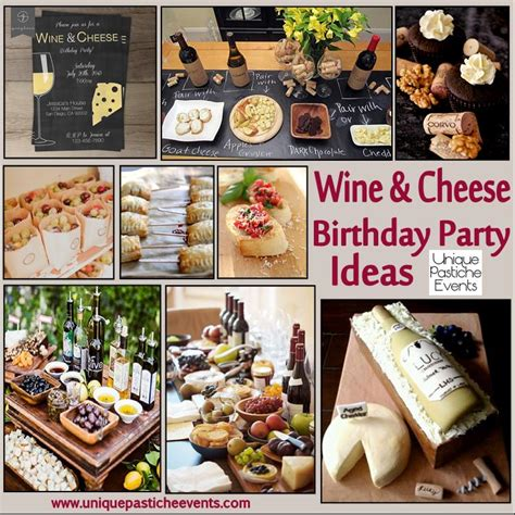 wine birthday decorations wine and cheese birthday party ideas unique pastiche events