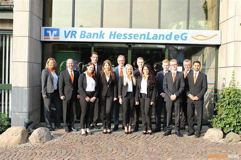 www vr bank hessenland acht neue azubis bei der vr bank hessenland eg alsfeld