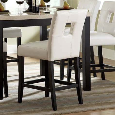 Kitchen Counter Chairs Archstone Counter Height Chair Set Of 2 Modern Bar