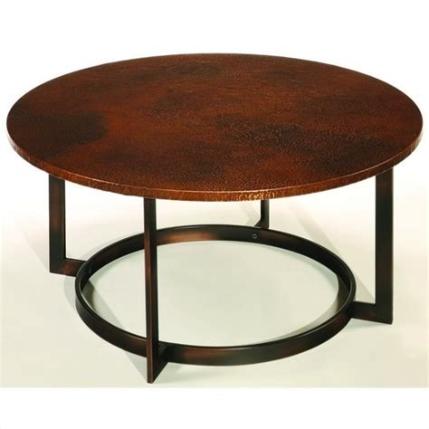 hammary nueva cocktail copper coffee table ebay