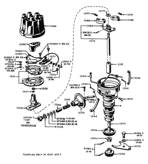 Ignition Parts Interchange 351 Wiring Diagram 351 Free Engine Image For