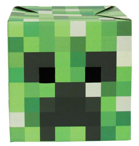 printable creeper mask minecraft costumes for halloween