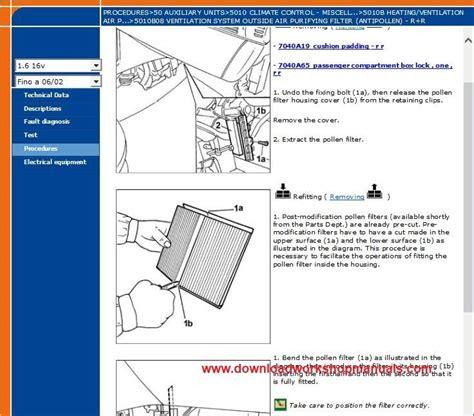 Fiat Stilo Workshop Repair Manual