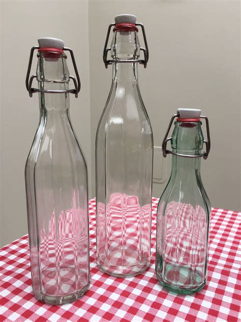 swing top bottles 250ml swing top glass bottles 250ml italian facetted