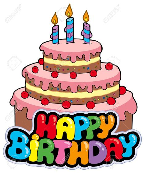 clipart torta happy birthday torte clipart f 252 r torte happy birthday