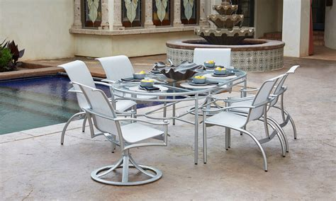 Woodard Outdoor Patio Furniture Woodard Aluminum Nob Hill Sling Patiosusa Patiosusa