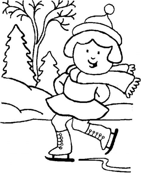 winter coloring page printable winter coloring pages coloring me