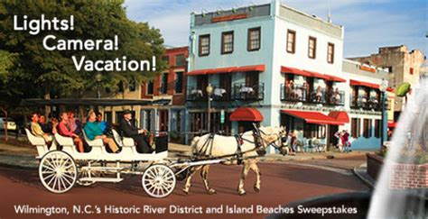 Sweepstakes Wilmington Nc - lights camera vacation enter wilmington n c s historic river district and island