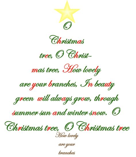 printable oh christmas tree lyrics free printable christmas songs search results calendar