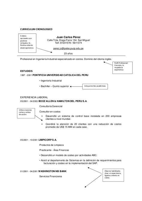 Modelo Curriculum Vitae Breve Modelo De Curriculum Vitae Gerencial Modelo De Curriculum Vitae