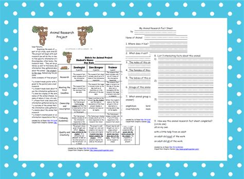 Animal Research Report Template For Kids Platinum Class Limousine 4th Grade Animal Research Project Template