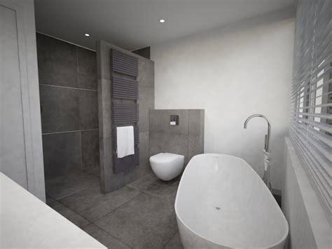 luxe badkamer met bad ruime badkamer met vrijstaand bad beniers badkamers