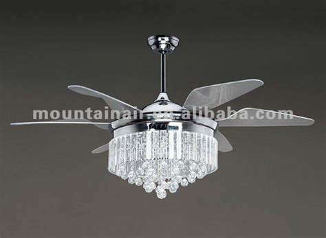 mountainair crystal l decorative ceiling fan with high