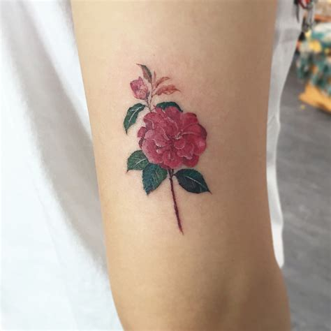 camellia flower tattoo designs 24 beautiful and camellia designs tattoobloq
