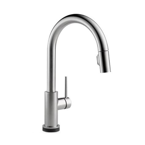 B K Faucets by Trinsic Collection Single Handle Pull Faucet