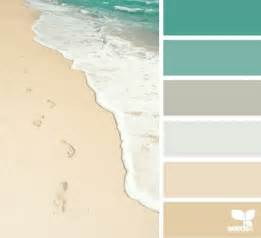 beach color palettes from the shore beach bliss living