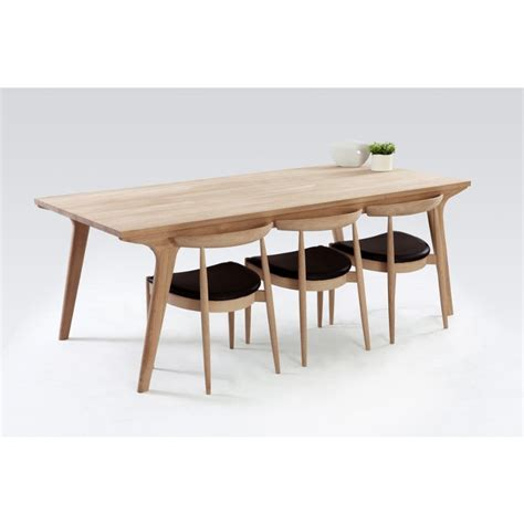 Design For Oak Dinning Table Ideas Contemporary Oak Dining Table Sl Interior Design