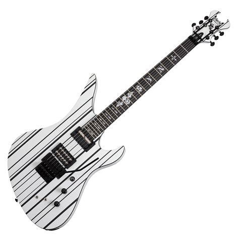 Guitar Schecter Synyster schecter synyster custom s electric guitar white with