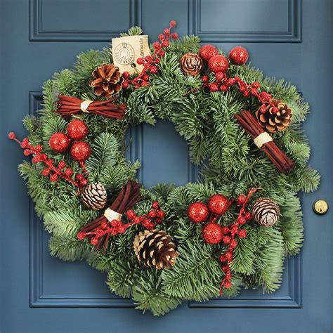wann ist der erste advent weihnachtskranz rot naturel