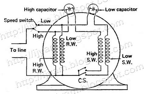 electrical circuit schematic diagram of capacitor