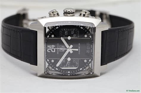 Tagheuer Cal 36 Silver tag heuer monaco 24 black calibre 36 the home of