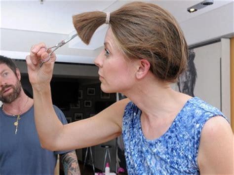 layer my hair with ponytail method как подровнять кончики волос самостоятельно