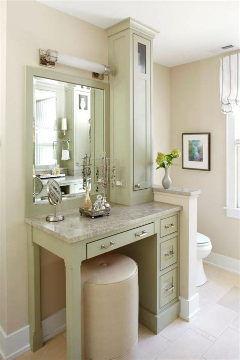Vanity Area In Bathroom by Amazing Interior The Stylish Bathroom Vanity With Makeup