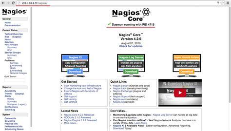 nagios install tutorial ubuntu how to install nagios server monitoring on ubuntu 16 04