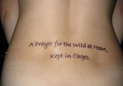 lower back tattoo quotes 31 topical quotes about tattoos creativefan
